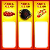 Sticker bbq Royalty Free Stock Photography