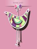 Sticker bird Stock Images