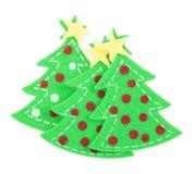 Sticker Christmas tree Royalty Free Stock Photos