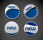 Sticker design element Royalty Free Stock Image