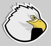 Sticker eagle Stock Photo