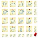 Sticker Icon Set Royalty Free Stock Photos
