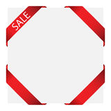 Sticker label. Vector sale label for web design use Royalty Free Stock Images