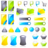 Sticker and Label Royalty Free Stock Images