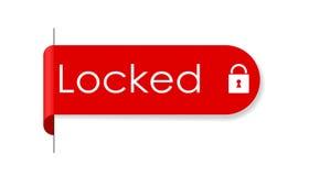 Sticker locked Stock Photos
