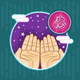 Sticker, markering of etiket voor Ramadan Kareem Royalty-vrije Stock Fotografie