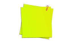 Sticker note Royalty Free Stock Images