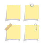Sticker note paper Royalty Free Stock Images