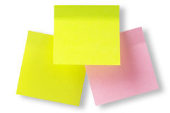 Sticker notes Royalty Free Stock Images