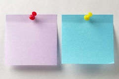 Sticker notes Stock Photography