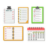 Sticker notes vector illustration. Stock Image