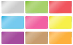 Sticker paper card Royalty Free Stock Images