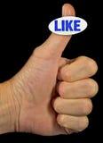 Sticker Power Royalty Free Stock Photos