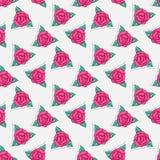 Sticker rose Royalty Free Stock Photo