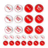 Sticker Sale Tag Stock Photography
