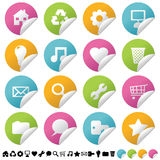Sticker set 1 Stock Images