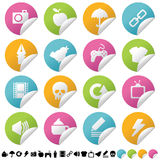 Sticker set 2 Royalty Free Stock Photo