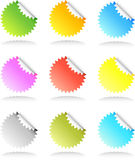 Sticker Set Royalty Free Stock Images