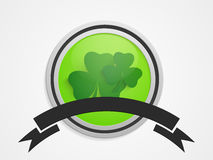 Sticker, tag or label for St. Patrick's Day celebration. Royalty Free Stock Photography