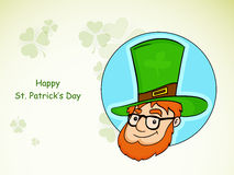 Sticker, tag or label for St. Patricks Day celebration. Stock Photo