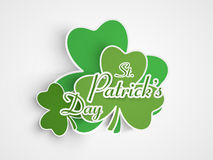 Sticker, tag or label for St. Patrick's Day celebration. Stock Images