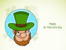 Sticker, tag or label for St. Patricks Day celebration. Royalty Free Stock Photo