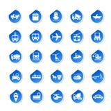 Sticker of Transport Icon Stock Photo