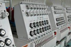 Stickerei-Maschine Lizenzfreie Stockfotografie