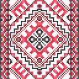 stickerei Ukrainische nationale Verzierung Lizenzfreie Stockfotografie