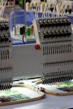 Stickereimaschine Lizenzfreie Stockfotos