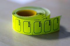 Stickerprijs Stock Foto