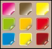 Stickers Royalty-vrije Stock Afbeeldingen
