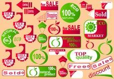 Stickers. Royalty-vrije Stock Afbeeldingen