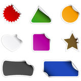 Stickers Royalty Free Stock Image