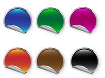 Stickers Royalty-vrije Stock Afbeelding