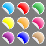 Stickers Royalty Free Stock Photography