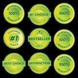 Stickers_2 Lizenzfreies Stockbild