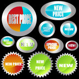 Stickers Royalty Free Stock Photo