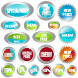 Stickers Stock Image