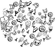 stickers απεικόνιση αποθεμάτων