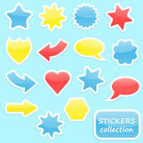 Stickers collection Stock Photo
