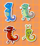 Stickers stock illustration