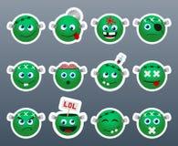 Stickers Frankenstein Stock Images