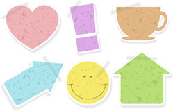 Stickers for home using Stock Photography