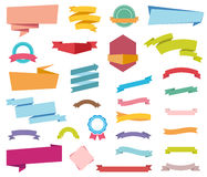 Stickers Labels Banners Stock Images
