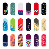Stickers for nails Stock Image