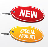 Stickers- new,special product Royalty Free Stock Images