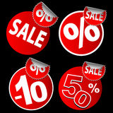 Stickers for sale Royalty Free Stock Photos