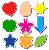 Stickers. Stock Photo