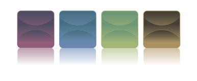 Stickers - Vectorbeeld Royalty-vrije Stock Afbeeldingen